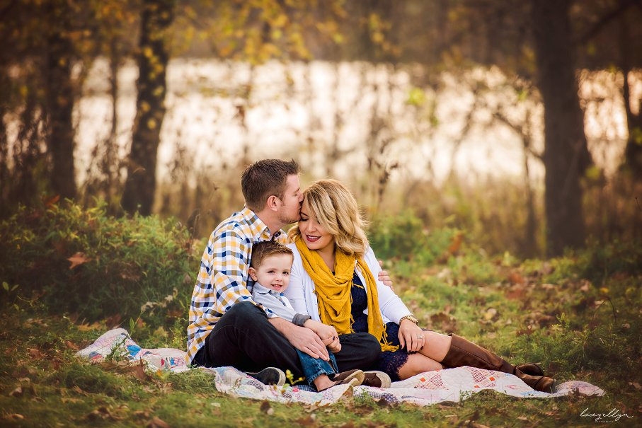 Northern Illinois Photographers Fall Family Sessions
